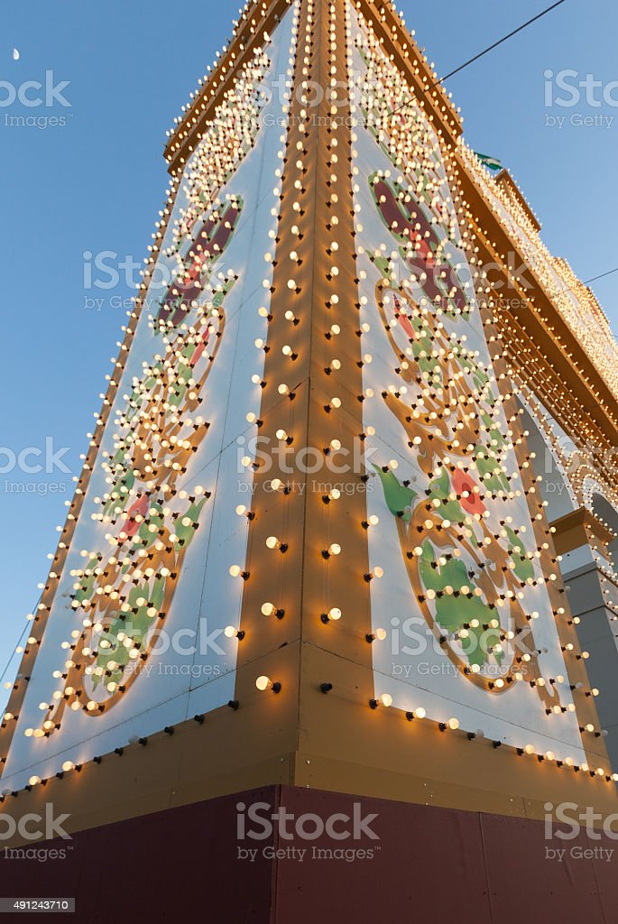 Feria de Abril stock photo