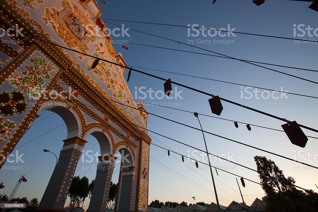 Feria de April stock photo