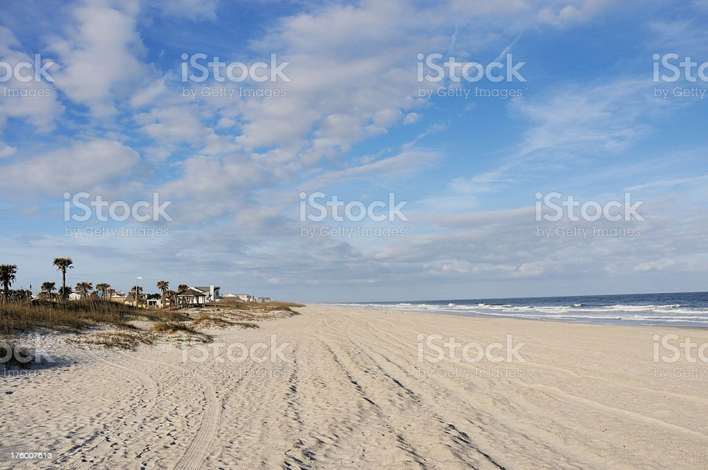 Fernandina Beach Amelia Island Florida stock photo