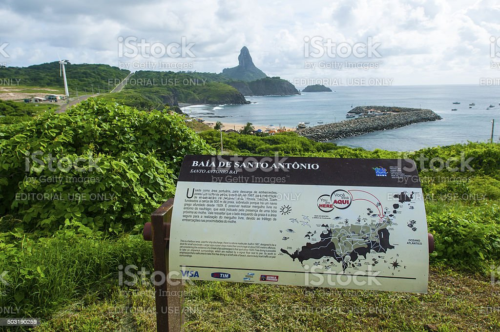 Fernando de Noronha - Brazil royalty-free stock photo