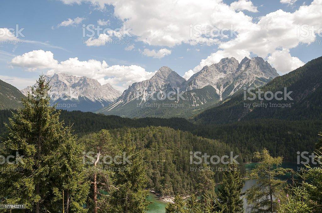 fernpass austria stock photo
