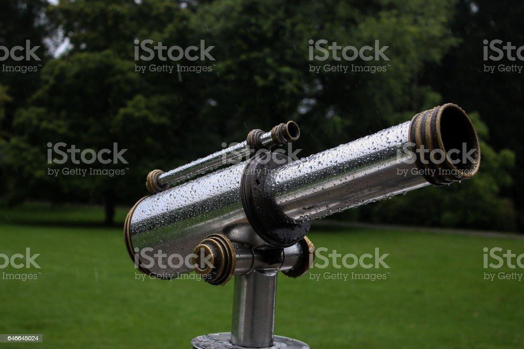 Fernrohr stock photo
