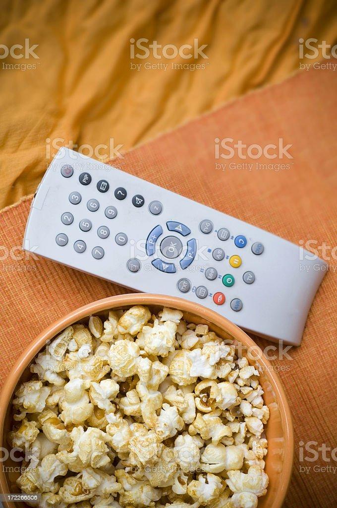Fernsehabend royalty-free stock photo