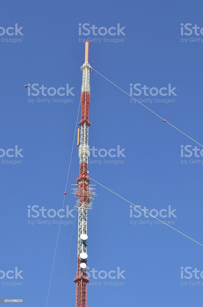 Fernsehsender stock photo