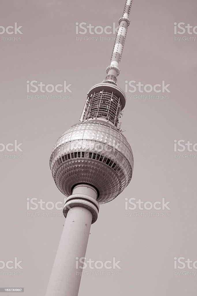 Fernsehturm Television Communication Tower, Berlin royalty-free stock photo