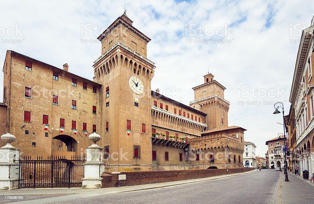 Ferrara stock photo
