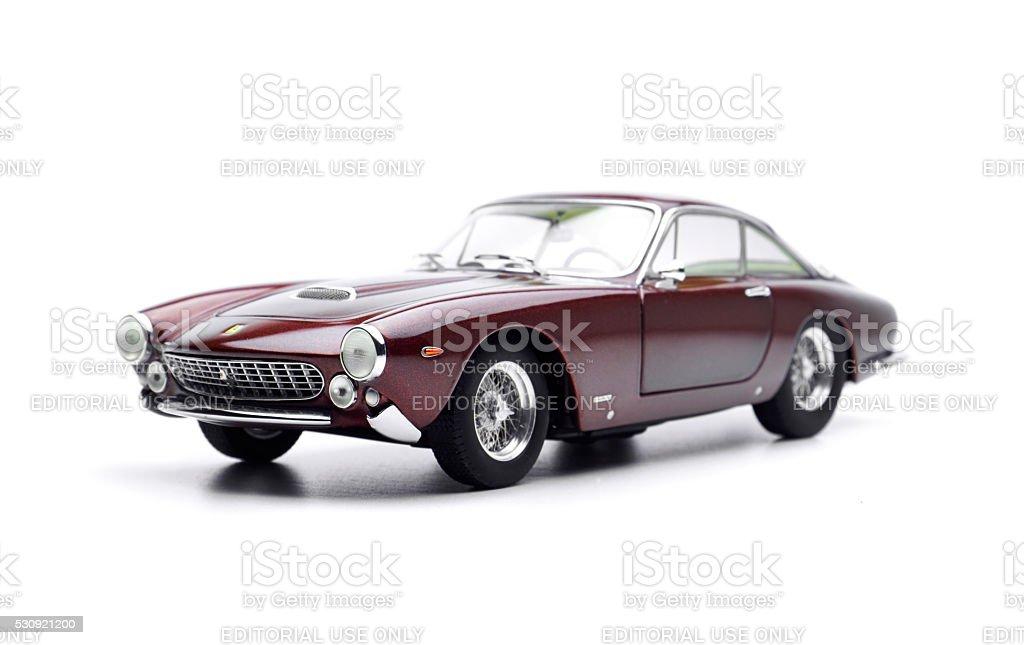 Ferrari 250 GT Lusso Model Car stock photo