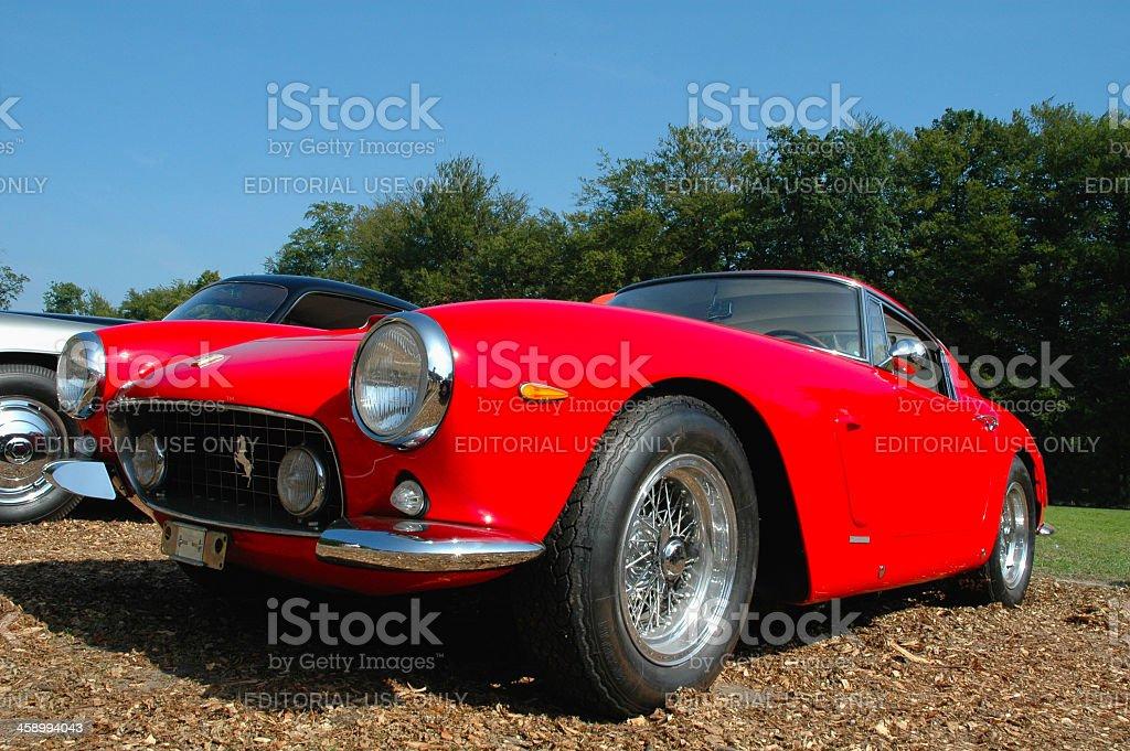 Ferrari 250 GT SWB royalty-free stock photo