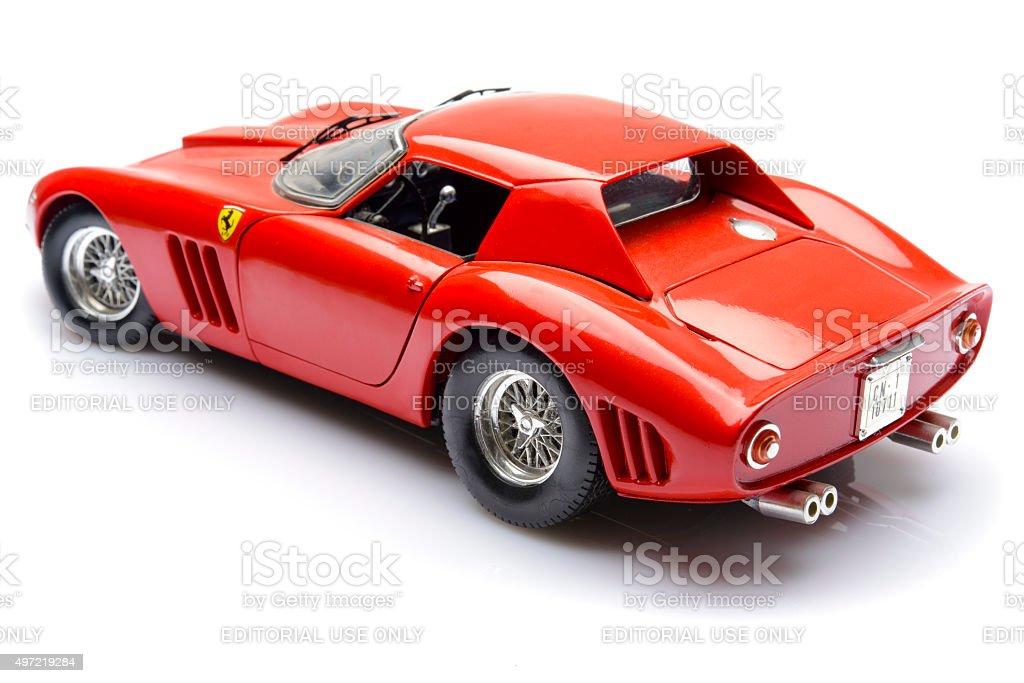 Ferrari 250 GTO classic sports car model stock photo