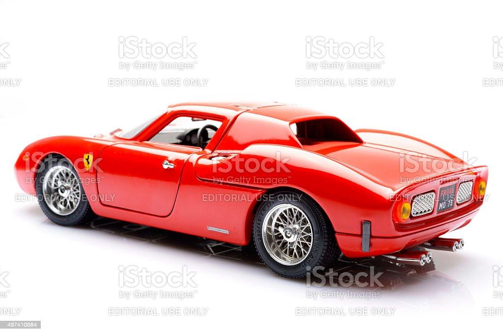 Ferrari 250 LM  Ferrari classic race car model stock photo