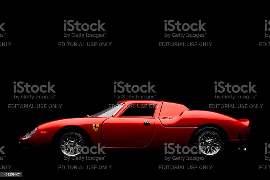 Ferrari 250 LM model car royalty-free stock photo