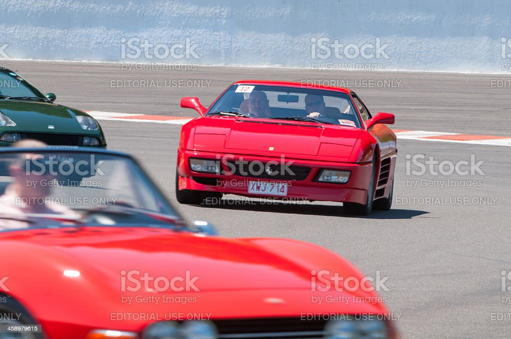 Ferrari 348 GTB royalty-free stock photo