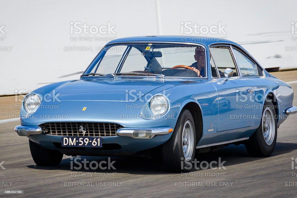 Ferrari 365 GT 2+2 classic Italian sports car stock photo