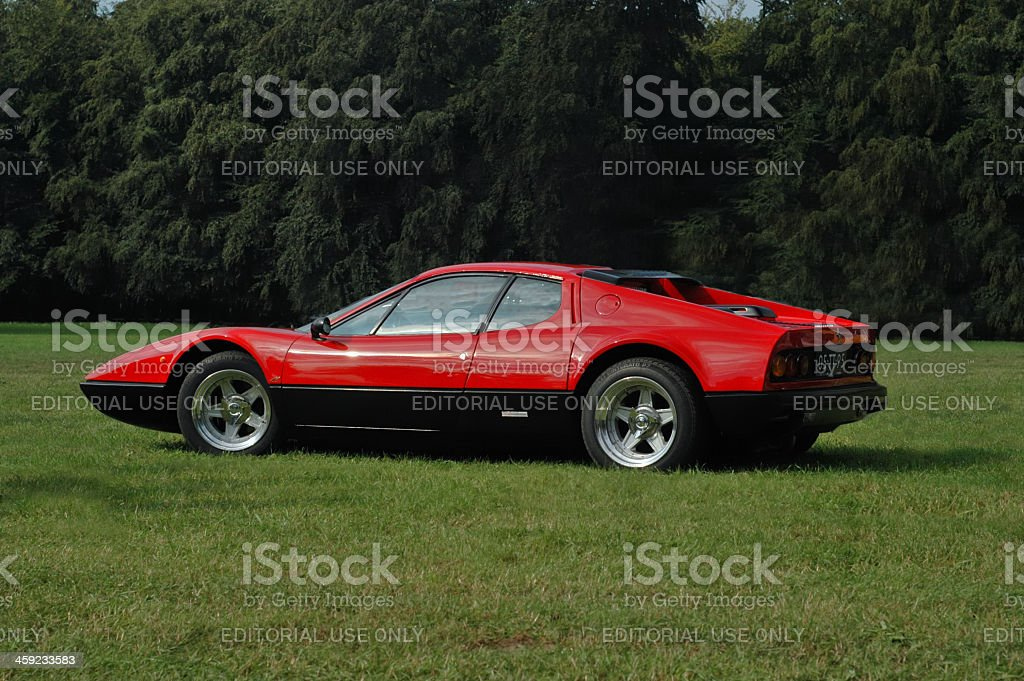 Ferrari 365 GT4 BB stock photo