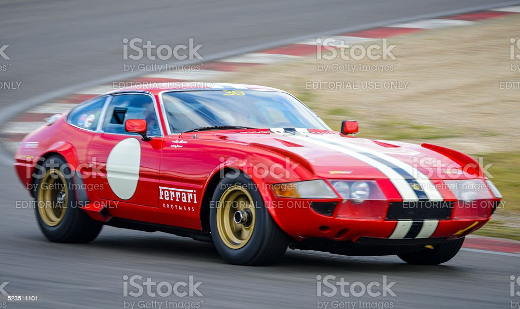 Ferrari 365 GTB/4 Competizione Daytona classic race car stock photo