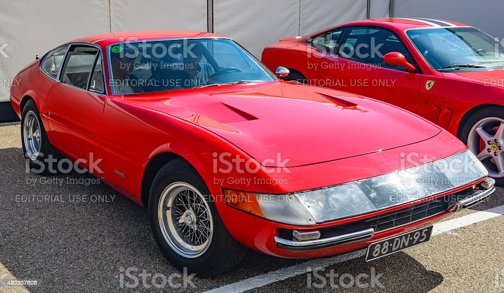Ferrari 365 GTB/4 Daytona classis Italian GT sports car stock photo