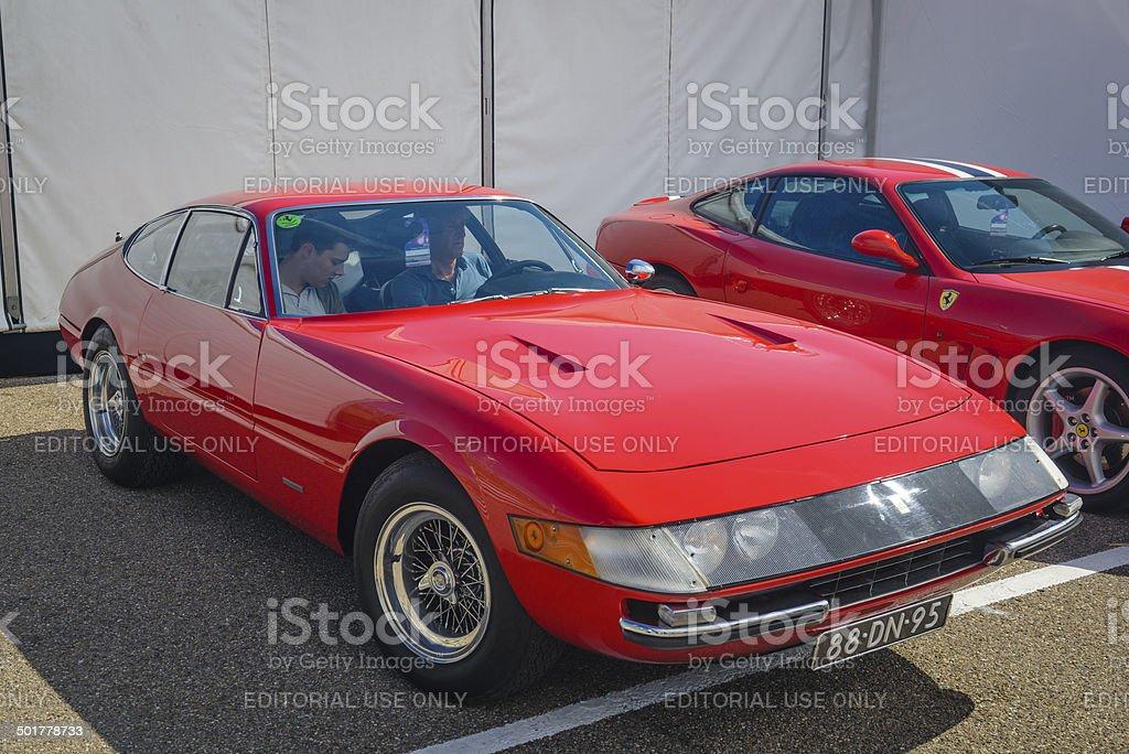 Ferrari 365 GTB/4 Daytona stock photo