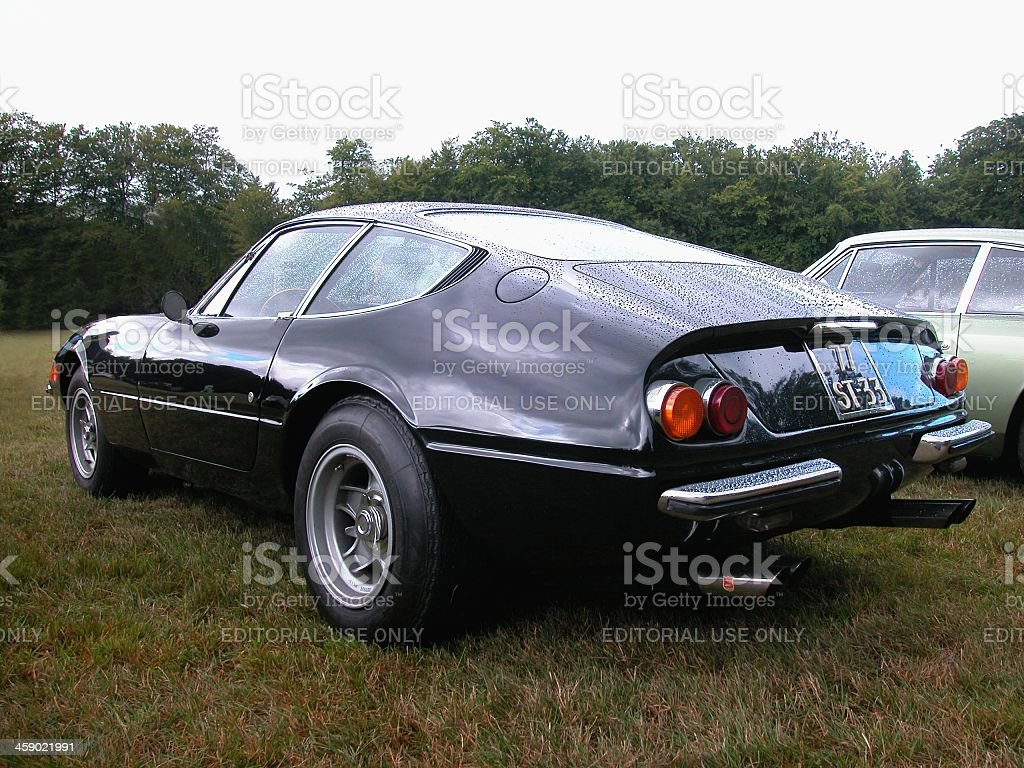 Ferrari 365GTB/4 Daytona stock photo