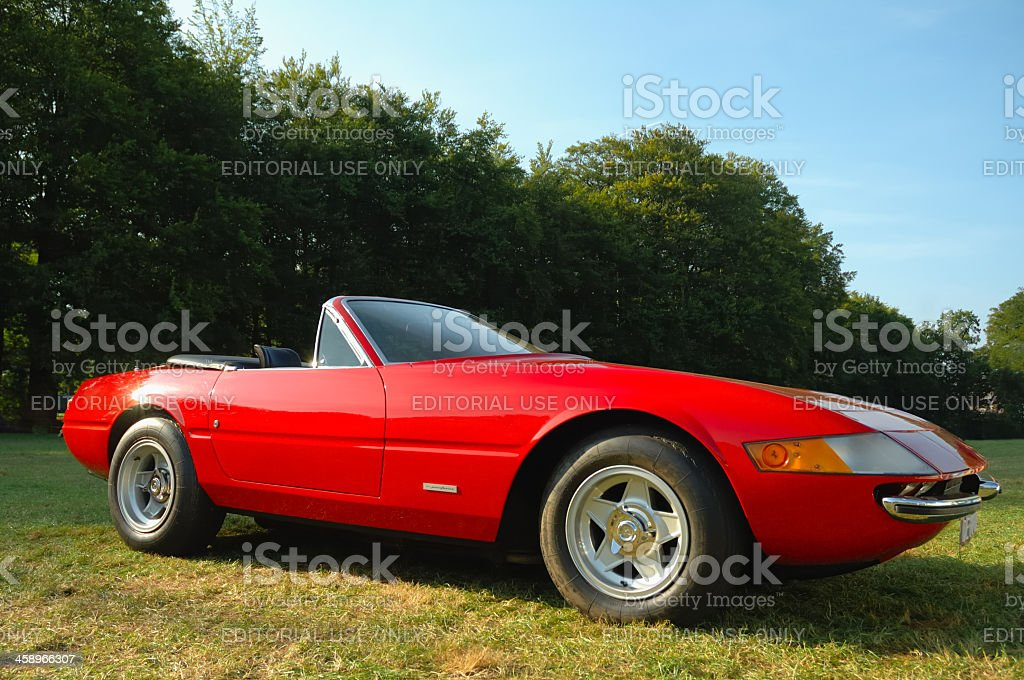 Ferrari 365GTS/4 Daytona Spider stock photo