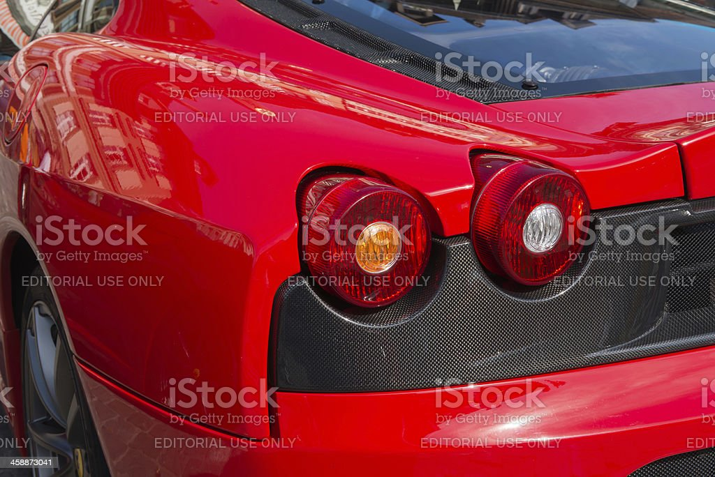 Ferrari 430 scuderia stock photo