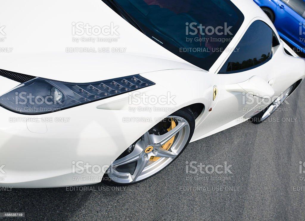Ferrari 458 Italia royalty-free stock photo