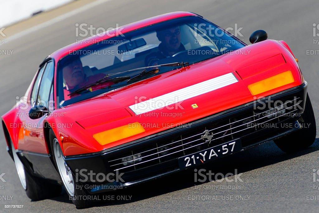 Ferrari 512 Berlinetta Boxer classic Italian sports car stock photo