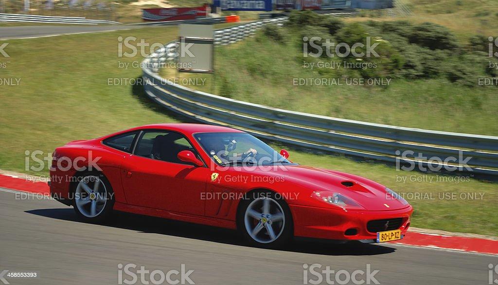 Ferrari 575 Maranello royalty-free stock photo