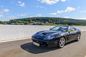 Ferrari 575 Superamerica driving fast