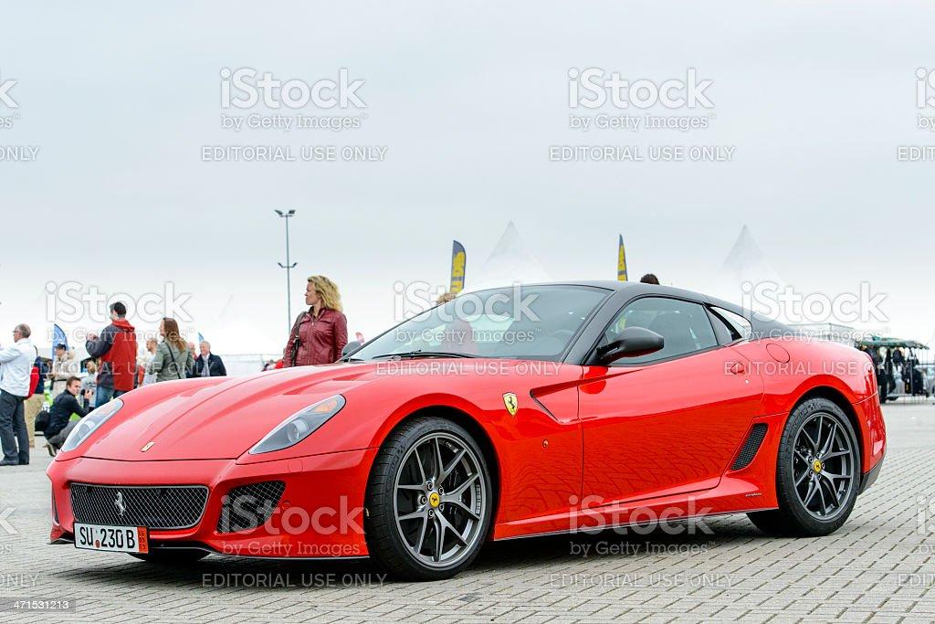 Ferrari 599 GTO V12 high performance racing car royalty-free stock photo