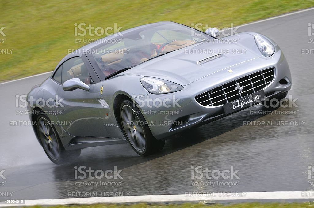 Ferrari California stock photo