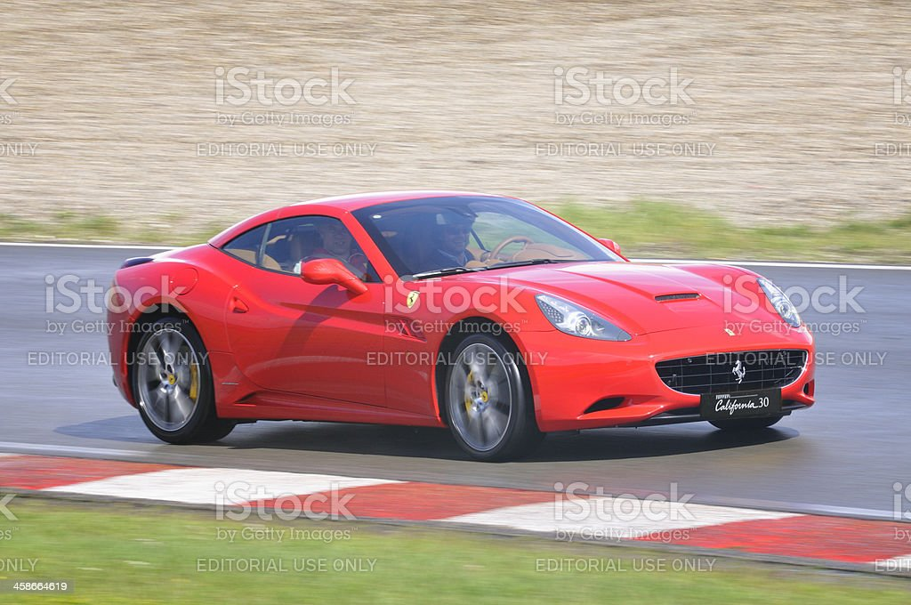 Ferrari California stock photo
