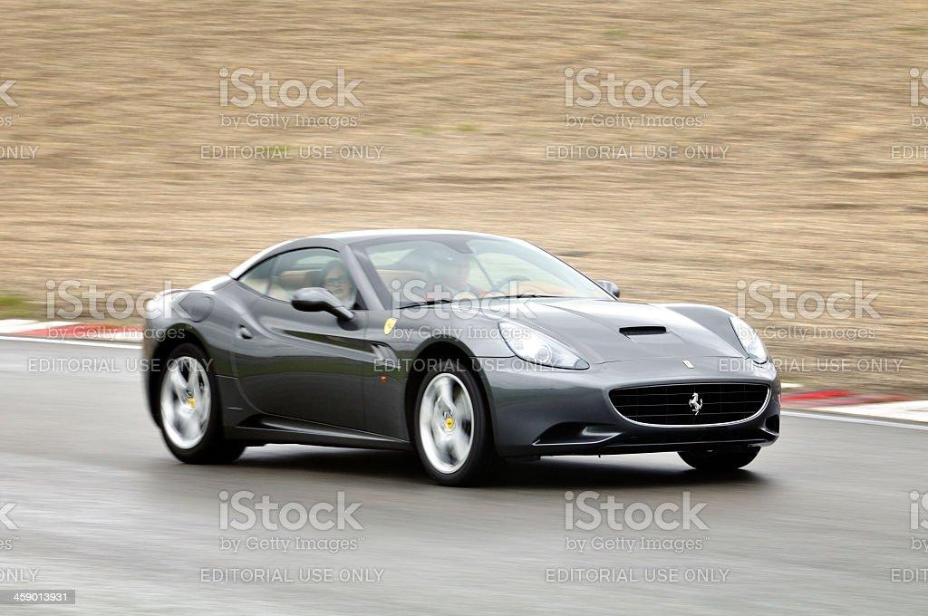 Ferrari California royalty-free stock photo