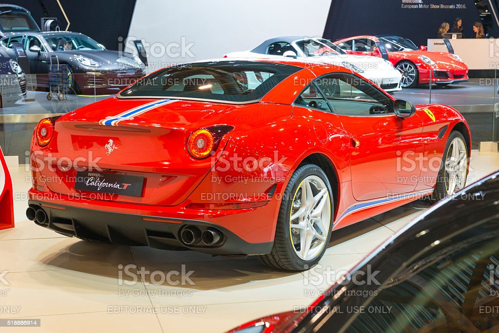 Ferrari California T Tailor Made stock photo