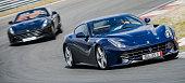 Ferrari F12 Berlinetta and Ferrari California T sports cars
