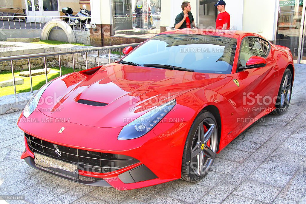 Ferrari F12 Berlinetta stock photo