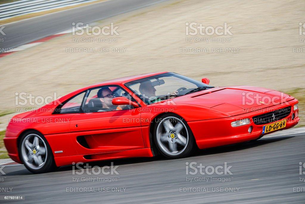 Ferrari F355 Berlinetta Italian sports car stock photo