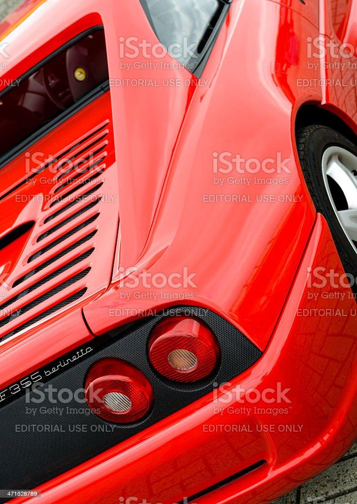 Ferrari F355 Berlinetta royalty-free stock photo