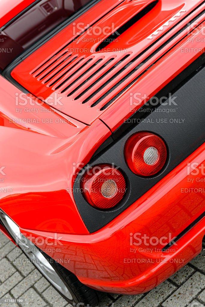 Ferrari F355 Berlinetta stock photo