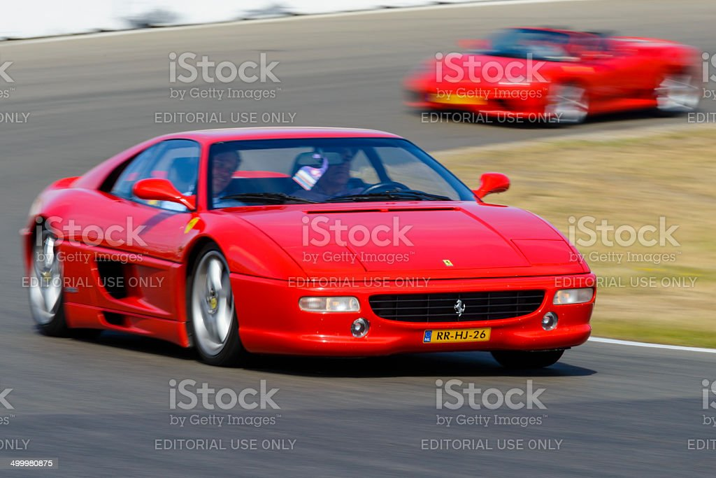 Ferrari F355 Berlinetta stock photo