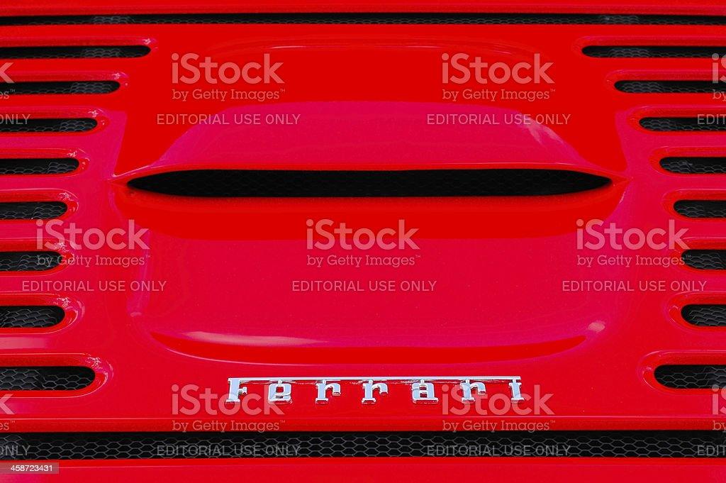 Ferrari F355 stock photo