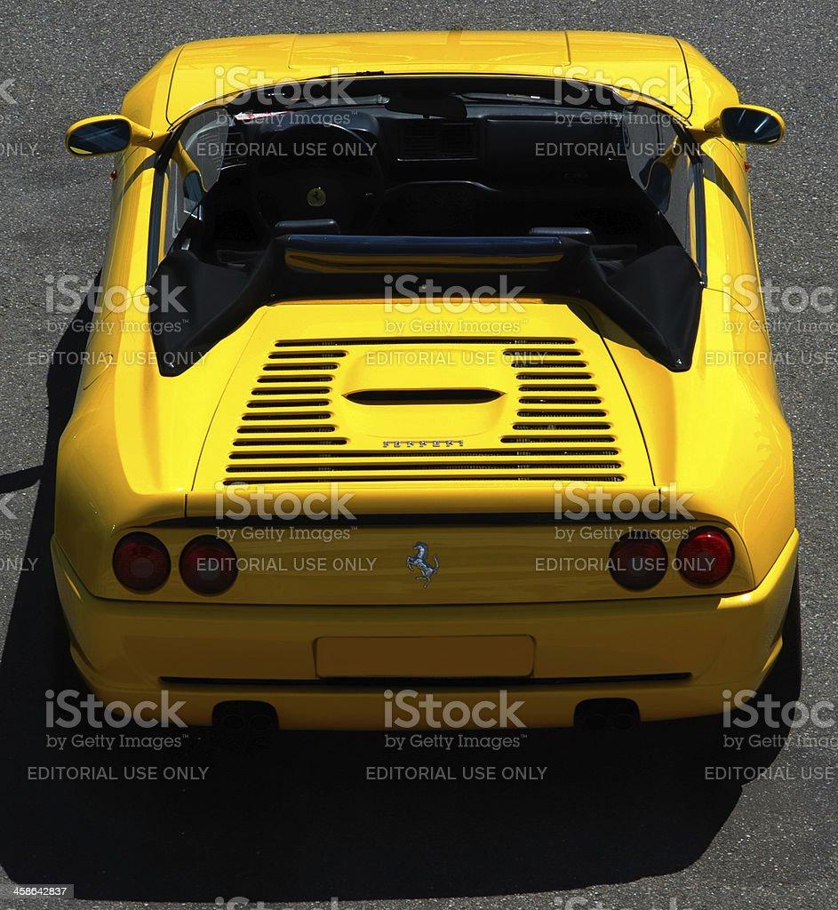 Ferrari F355 Spider stock photo