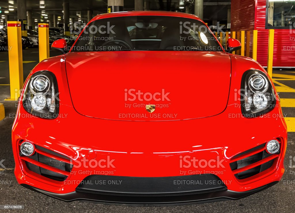 Ferrari F40 car stock photo