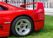 Ferrari F40 classic 1980s Italian supercar