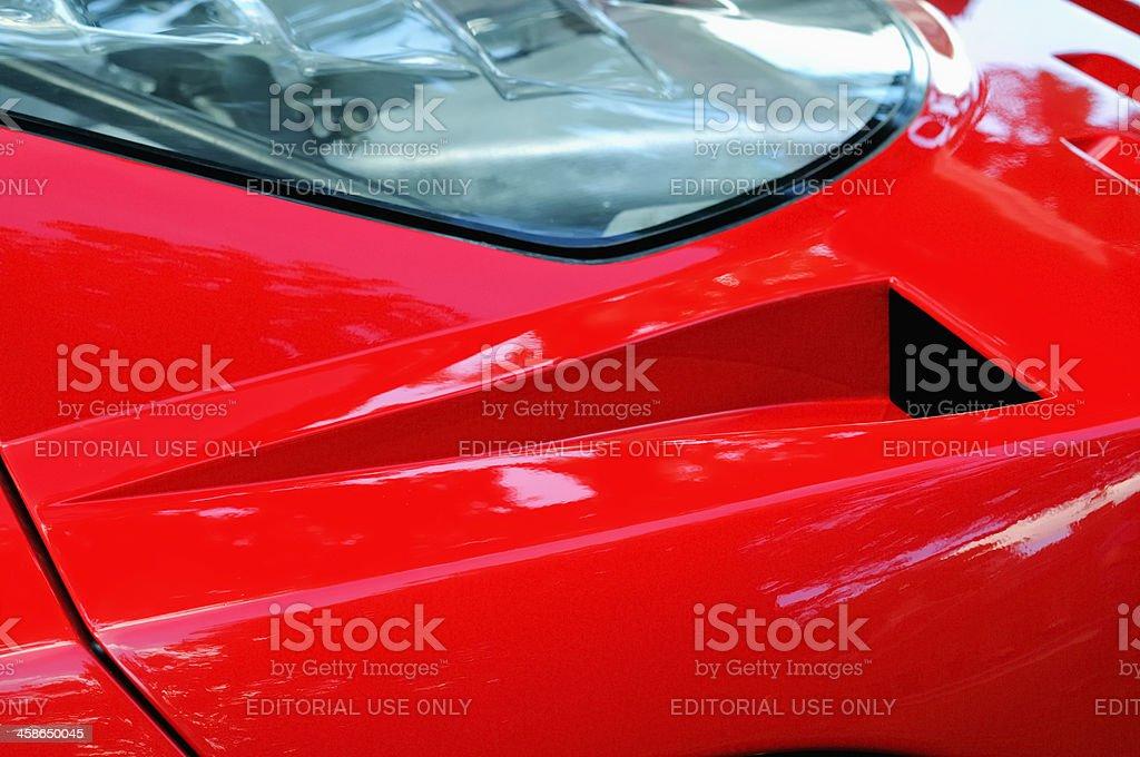 Ferrari F40 royalty-free stock photo