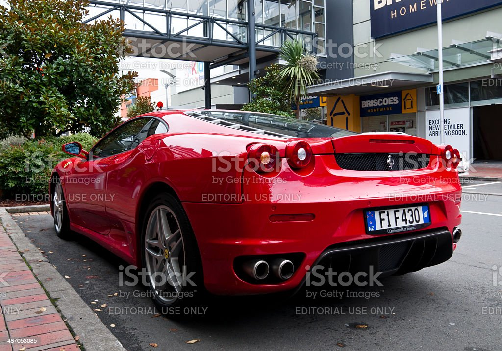 Ferrari F430 F1 from 2008 stock photo
