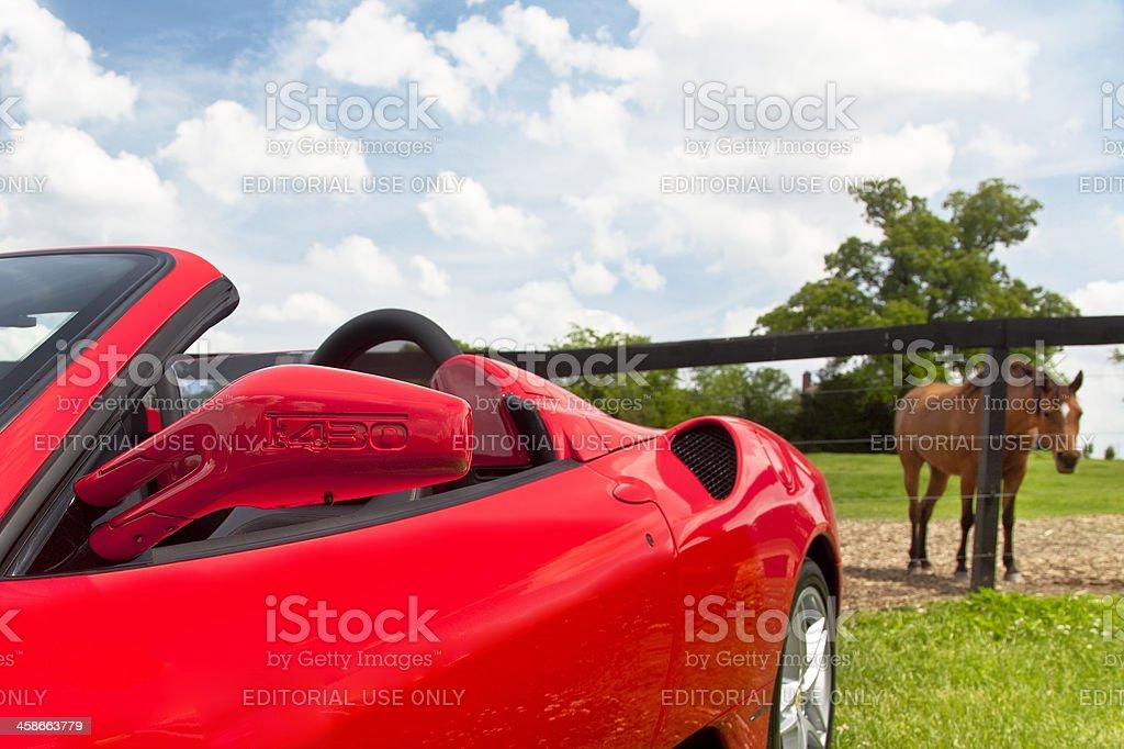 Ferrari F430 royalty-free stock photo