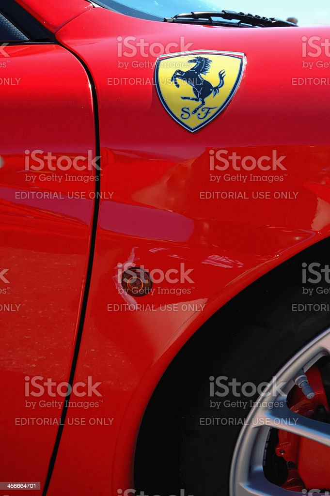 Ferrari F430 CS stock photo