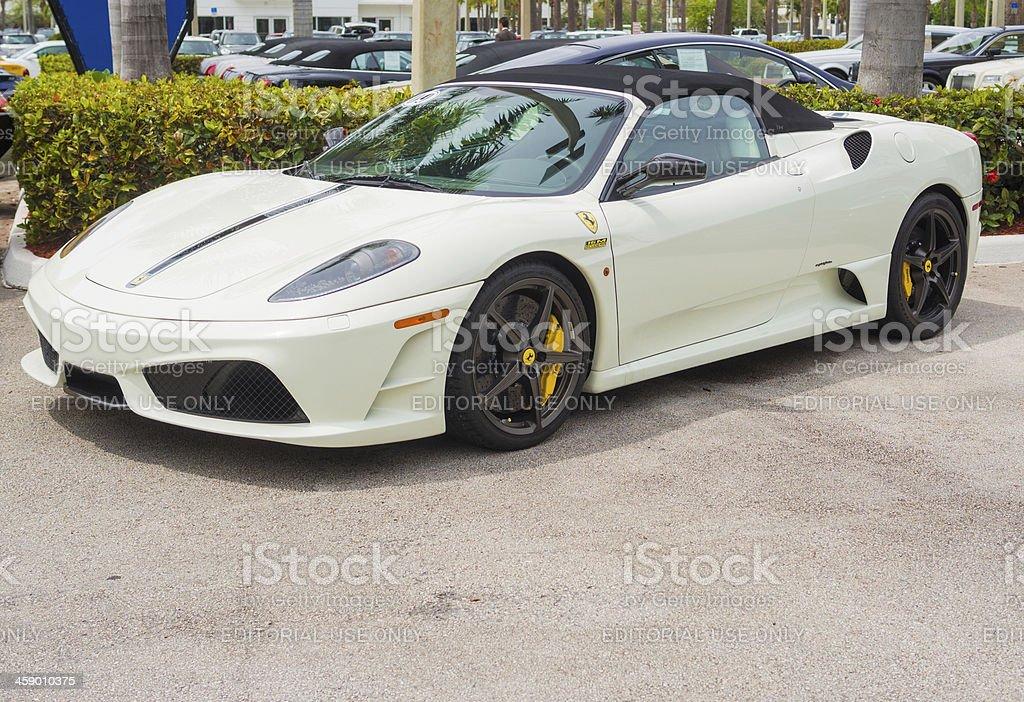 Ferrari F430 Scuderia 16M stock photo