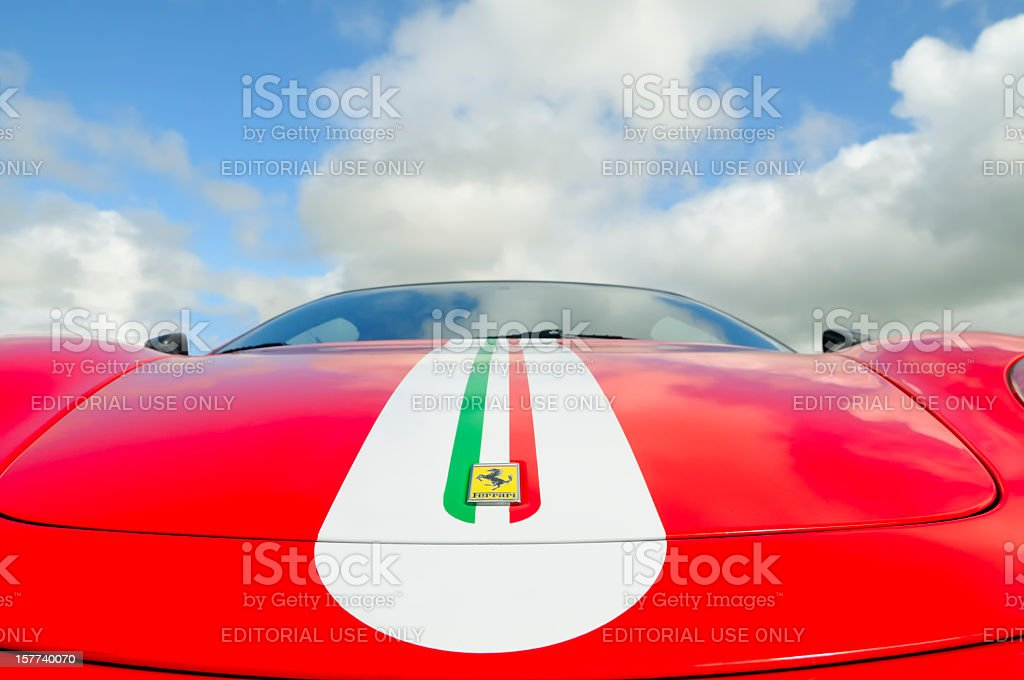 Ferrari F430 Scuderia stock photo