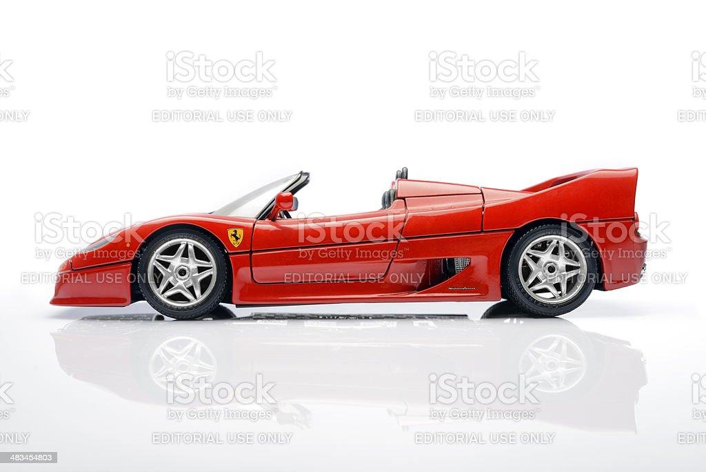Ferrari F50 royalty-free stock photo